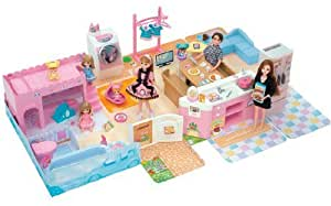 Amazon.com: Mr. loose Rika talking kitchen by Takara Tomy: Toys