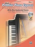 Premier Piano Express, Bk 1: An All-In-One Accelerated Course, Book, CD & Online Audio & Software (Premier Piano Course)