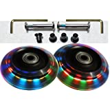Luggage Lighted Wheel Set - Mixed Colors - 76mm