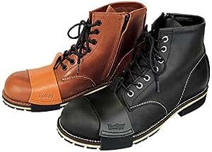 バギー(Buggy) Lady's Zip Up Work Boots クロ 24.0 BBS1413-01-24.0