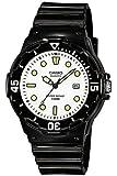 Casio Damen-Armbanduhr CASIO COLLECTION Analog Quarz (One Size, weiß)