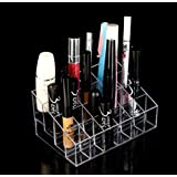 Domire Lipstick Organizer Nail Polish Makeup Case Cosmetic Stand Display Rack Holder