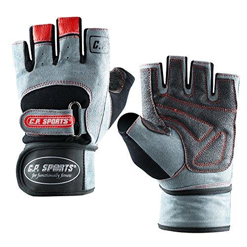 CPSports-Fitnesshandschuhe-Pro-Trainer-Bandagen-Handschuh-TOP-DESIGN-2014-Bodybuilding-Kraftsport