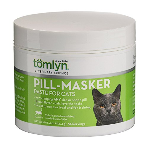 Tomlyn Pill Masker Cat Supplement Juicy Flavorful and Shapeable Paste Taste 4oz