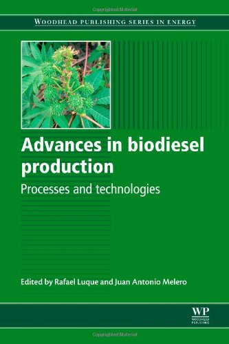 Advances In Biodiesel Production: Processes And Technologies (Woodhead Publishing Series In Energy)