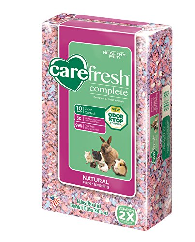 carefresh Complete Natural Paper Bedding Confetti, 10L 51dnAD6alRL