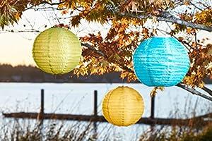 Allsop Home and Garden 14-Inch Round Soji Illume Solar Lantern from Allsop Home and Garden