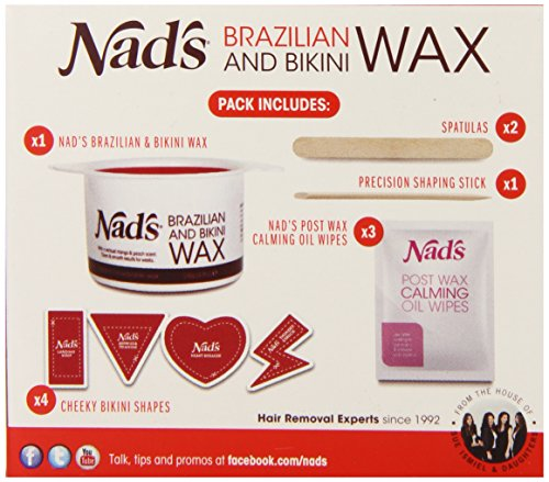 Nad's Brazilan & Bikini Wax Kit, 4.9-Ounces Health Beauty