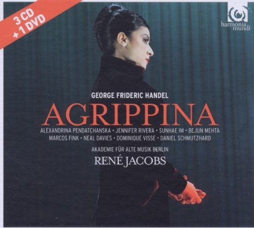 Agrippina - Händel -  3 CD +1 DVD