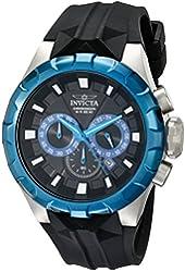 Invicta Men's 16921 I-Force Analog Display Japanese Quartz Black Watch
