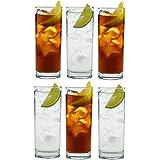 Argon Tableware Traditional Hiball Glasses - 360ml (12.25oz) Gift Box of 6