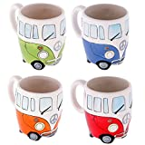 Camper Van Mug - Colours may vary as shown in the picture