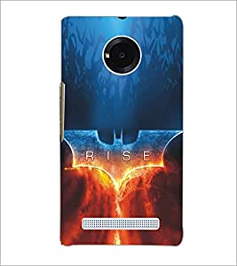 MICROMAX YU YUPHORIA RISE Designer Back Cover Case By PRINTSWAG