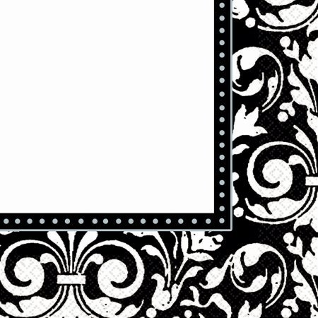 "Luncheon Napkins 6.5""X6.5"" 16/Pkg-Formal Affair"