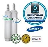 Samsung DA29-00012A, DA97-03175A, DA97-03175A-B, TS48DLUS Compatible Water Filter 2 Pack