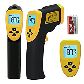 Etekcity Lasergrip 800(ETC 8750) Temperature Gun Non-contact Digital Laser Infrared IR Thermometer, 2-Year Warranty, -58~+1382u00b0F, 12:1 D:S, Instant-read, FDA/FCC/CE/ROHS Approved