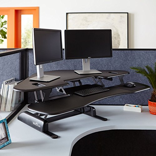 Varidesk Height Adjustable Standing Desk For Cubicles