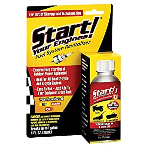 Start Your Engines! 21205 Fuel System Revitalizer, 4 Fl. oz.