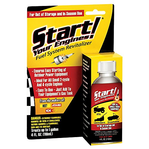 Start Your Engines! 21205 Fuel System Revitalizer, 4 Fl. oz. (Motorcycle Carburetor Cleaner compare prices)
