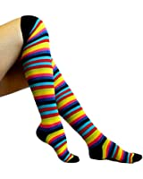 Chapini®, Ladies & Girls Fashion Striped Thigh High Over The Knee Socks,