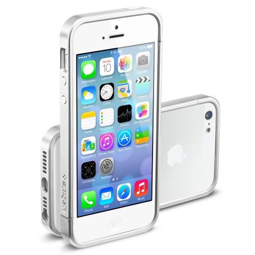 国内正規品SPIGEN SGP iPhone5/5S ケース リニア EX スリム メタルシリーズ [サテンシルバー] SGP10082
