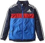 (アディダス)adidas トレーニング adidas24/7 強ブレ ジャケット (裏起毛) BVA31 [ボーイズ] AZ7498 ブルー/カレッジネイビー J140