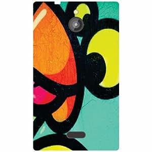 Back Cover For Nokia X2 (Printed Designer)