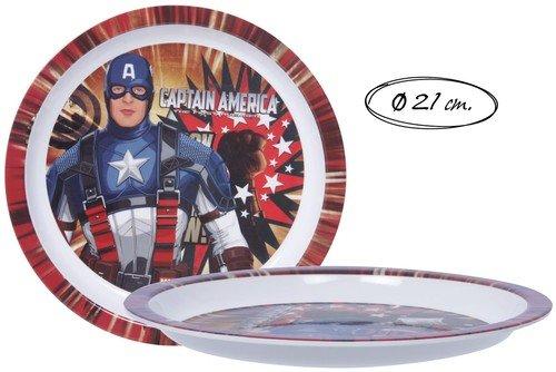 plato-llano-melamina-capitan-america-marvel-oe-21cm