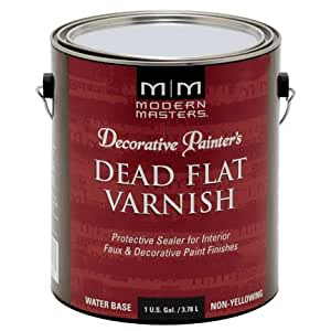Modern Masters DP609-GAL Dead Flat Varnish, 1-Gallon