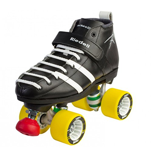 Riedell 265 Vandal Derby Roller Skates - 10.5/Black (Riedell Rival compare prices)