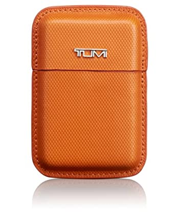 (新品)途米Tumi Prism, Structured Business Card Leather 真皮卡包 土黄颜色 $56