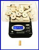 Digital Mini Pocket Kitchen Scale Health Weight Diet Watchers Multipurose Tool, Book Guide, Tray Flower