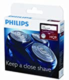Philips hq9/50 hq9/40 hq9/52 Philishave Norelco triple track 3 Replacement shaving heads for Speed-XL and Smart Touch-XL cutters and foils (does not include head frame)