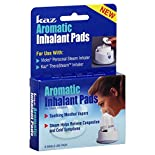 Kaz Inhalant Pads, Aromatic, for Steam Inhalation, 6 pads