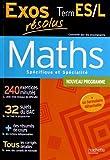 Maths Tle ES/L, Enseignement spécifique et spécialité
