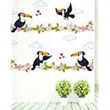 Rawpockets Wood Pecker Bird Love Wall Sticker