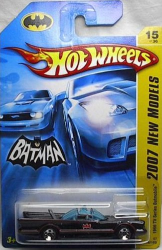 Hot Wheels - 2007 - 15/36 - Batman - 2007 First Editions - Tv Batmobile - 015/156 - Limited Edition - Collectible - 1