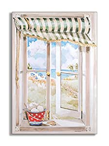 The stupell home decor collection decorative faux window for Home decorations amazon