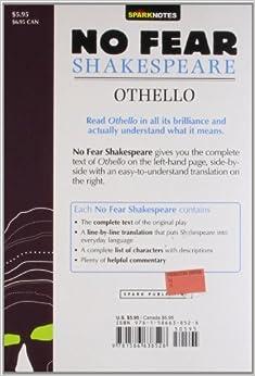 FEAR SHAKESPEARE OTHELLO NO