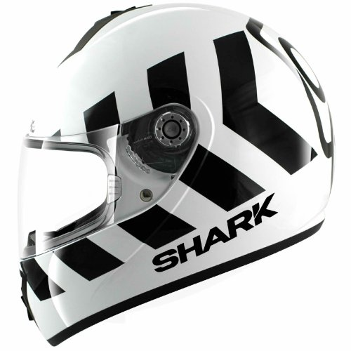 HE2421EWKWXL - Shark S600 Pinlock No Panic Motorcycle Helmet L Black (WKW)