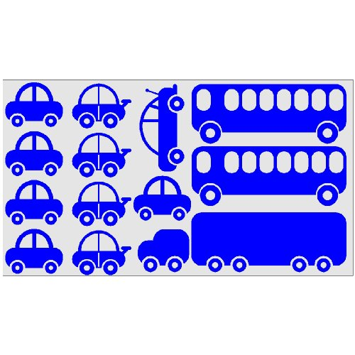 Car And Truck Childrens Room Decor Wall Stickers Decals Removable Art Decor