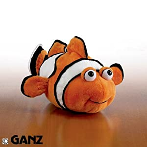 Webkinz Clown Fish with Trading Cards