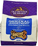 Old Mother Hubbard Crunchy Classic Natural Dog Treats, Original Assortment Mini Biscuits, 3.8-Pound Bag
