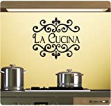 La Cucina Wall Decal Sticker Art Mural Home Décor Quote