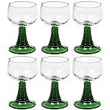 6 Römer Römergläser Grüm Bordeaux Weingläser Wein Gläser Glas 27