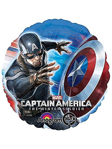 Marvel Captain America The Winter Soldier Foil Balloon-1 piece - 1