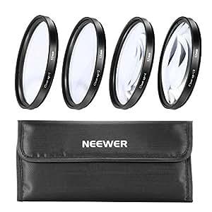 52mm 4pc Close-Up Kit Macro Lenses For Nikon D40 D40X D60 & All Other 52mm Lenses