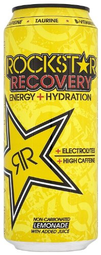 Rockstar Recovery Energy Drink 500 ml (Pack of 12)