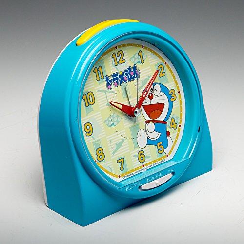 SEIKO CLOCK(セイコークロック) ドラえもん おしゃべり目ざまし時計アラーム音切替タイプ(青塗装) CQ137L