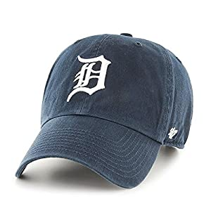 MLB Detroit Tigers Clean Up Adjustable Cap (Navy) (For Adults)